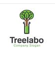 Tree Labo Design vector image