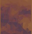 polygon background dark purple orange vector image