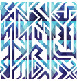 abstract blue geometric seamless vector image