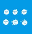 lactose free logo or icon vector image