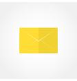 closed envelope icon vector image