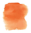 orange watercolor gradient background vector image
