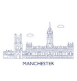 Manchester vector image