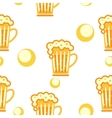 seamless pattern cold drinks vector image vector image