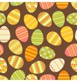 Happy Easter retro seamless pattern vector image vector image