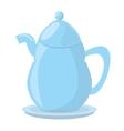 tea pot porcelan coffee vector image