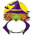 witch and cauldron vector image