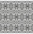 Black fantasy seamless pattern background vector image