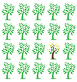 images of trees vector image