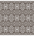 White fantasy contrast seamless pattern background vector image