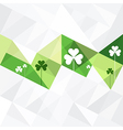 patrick day background abstract vector image