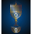 Happy Hannukah vector image vector image