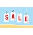 sale prices bait vector image