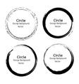 Circle Grunge design vector image