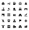 City Elements Icons 4 vector image