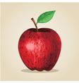 Sketch of an apple vector image