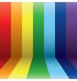 vertical rainbow vector image