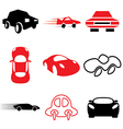 logo icons car vector image vector image