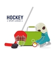 Hocket sport game vector image