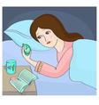 Insomnia vector image