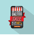 Mobile Shopping Concept vector image