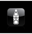 nuclear bottle icon vector image