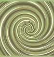 swirling backdrop spiral surface hazelnut color vector image
