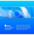 Turbine of oil pump vector image