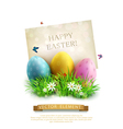 vintage element for design Easter vector image vector image