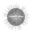 Vintage style star burst retro element for your vector image