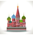 Kremlin Moscow vector image
