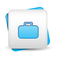 Briefcase Icon vector image vector image