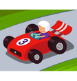 Race Car vector image