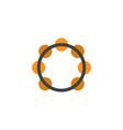 samba flat icon symbol premium quality isolated vector image