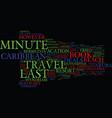 last minute caribbean travel deals text vector image vector image