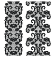 Lacy vintage trims vector image
