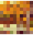 Autumn colorful abstract mosaic background vector image