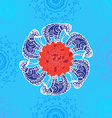 Indian elepnant vector image
