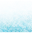 Abstract blue triangles background Good for vector image vector image