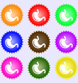 Stomach icon sign Big set of colorful diverse vector image