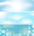 Abstract sky background banner vector image vector image