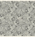 Seamless wavy texture abstract pattern vector image