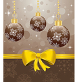 christmas packing vector image