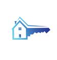 House key symbol vector image