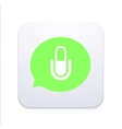 modern microphone icon in bubble speech vector image vector image