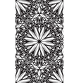 Abstract geometric seamless pattern with hand drow vector image