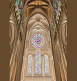 chartres cathedral 14apr2017 vector image