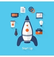 Start up vector image vector image
