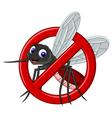 no mosquito symbol vector image