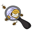 cockroach cartoon vector image
